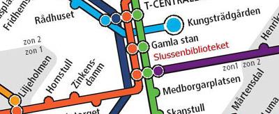 Slussenbibliotekskarta